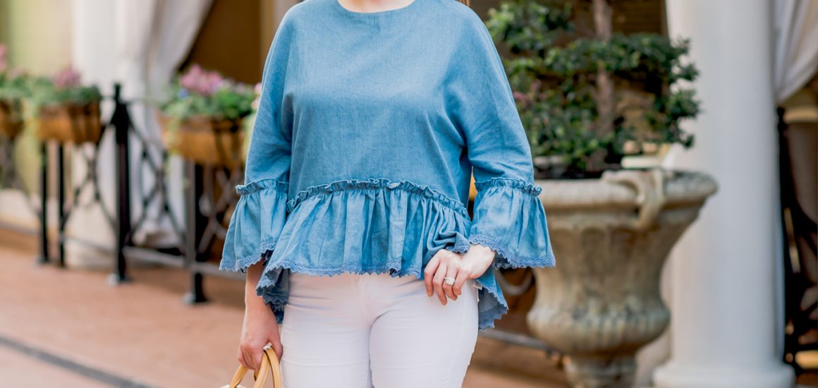 How To Style White Jeans With 5 Simple Outfits