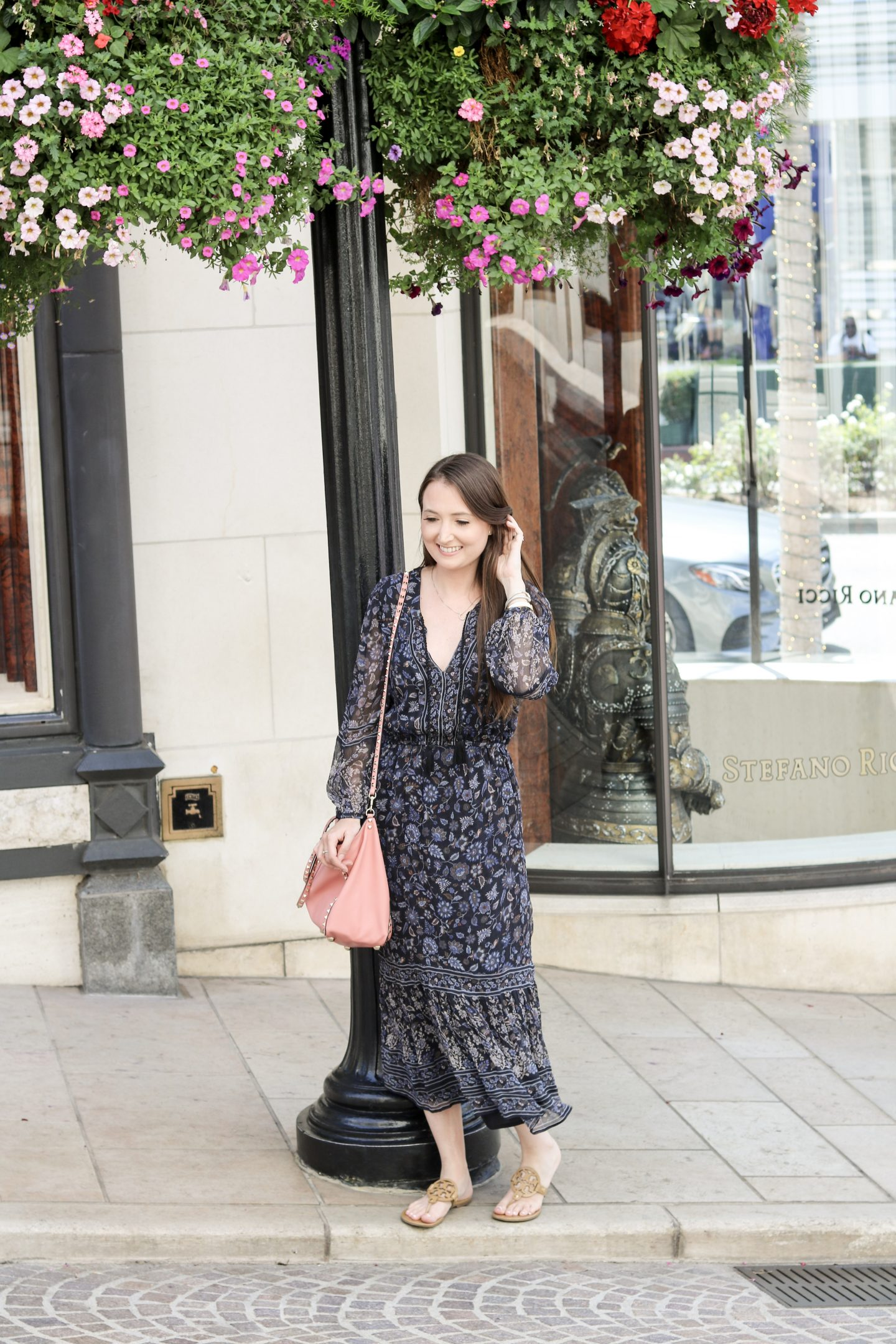 Traveling to LA: Beverly Hills & USC Football  rodeo drive, joie, tory burch, free people, fall outfit, fall dress