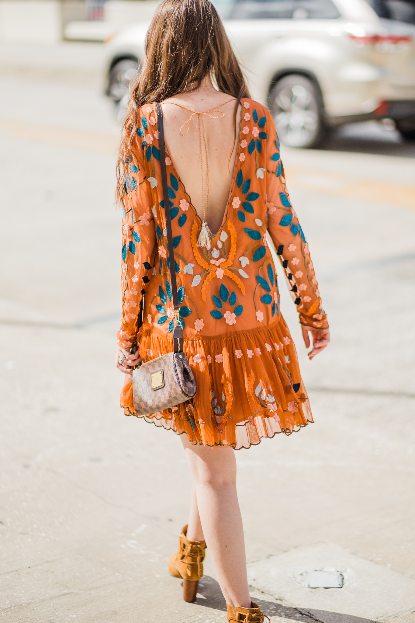 How to Dress Classy the Right Way, free people hearts our wild dress, free people hearts our wild burnt orange dress