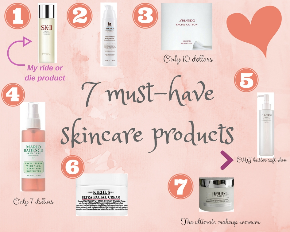 7 must have skincare products
