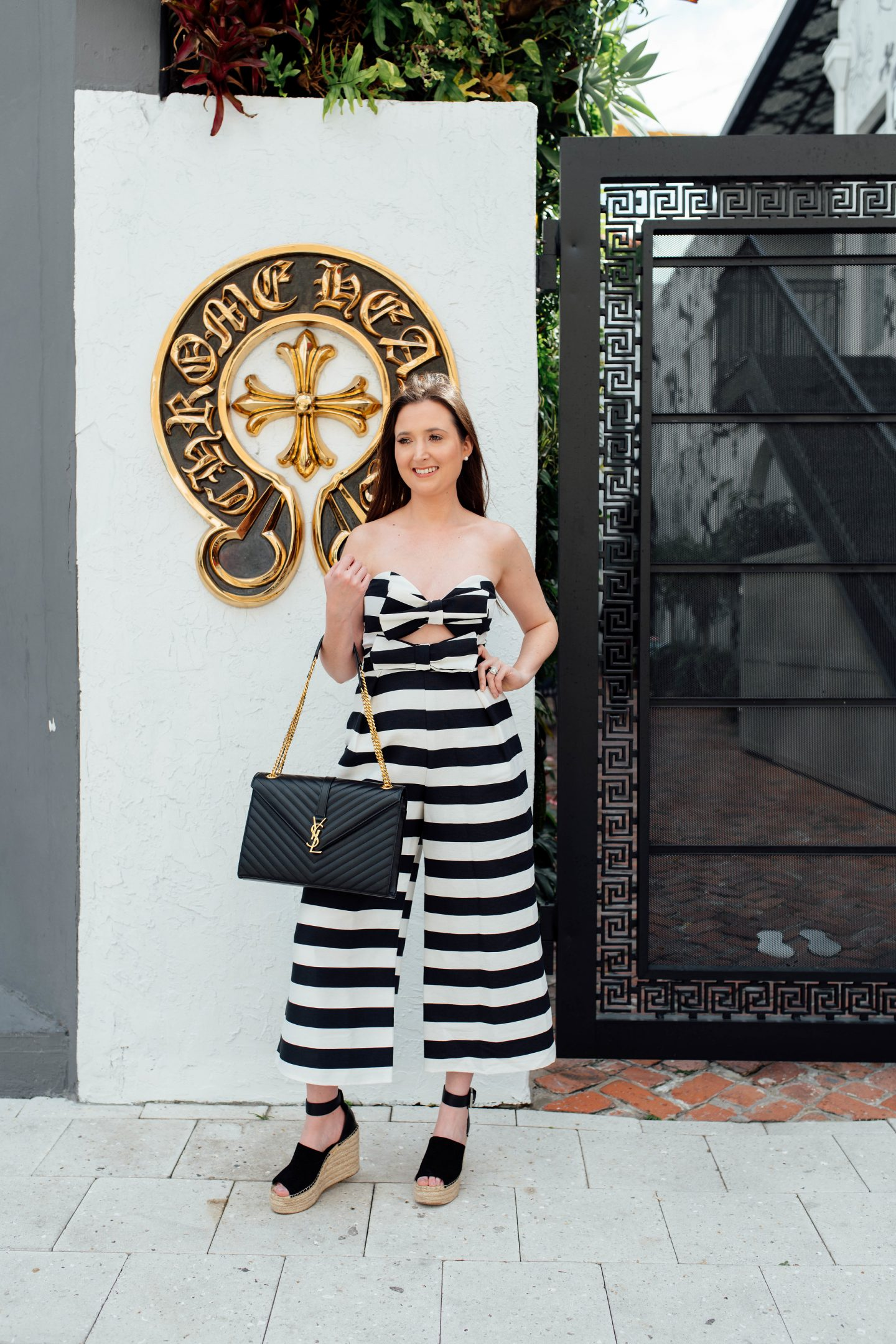 How to Dress Classy the Right Way, black and white jumpsuit