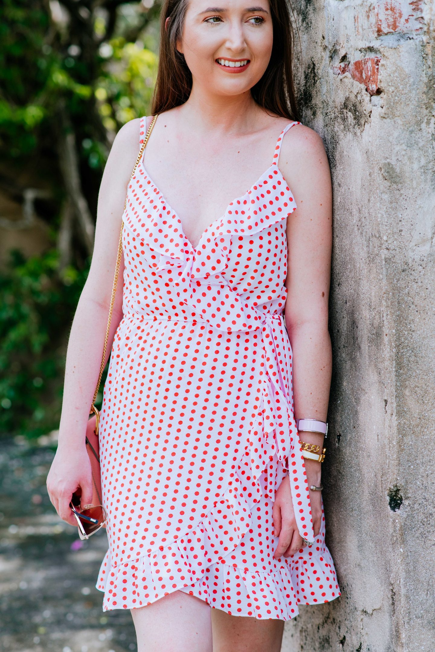 How to wear a polka dot dress, pink polka dot outfit, pink polka dot dress,, polka dots polka dot outfit ideas polka dot style polka dots outfit polka dots fashion polka dot clothes polka dot wedding, summer style, dresses for spring, bloomingdales aqua dress