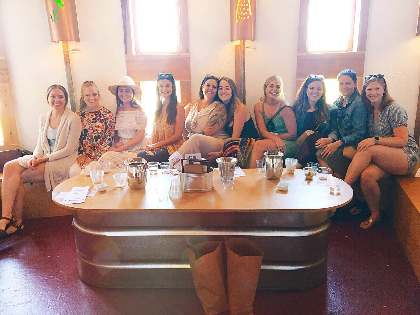 Bachelorette party that's affordable and fun, lake michigan, union pier michigan, michigan bachelorette party, union pier winery, round barn tasting room, round barn tasting room michigan
