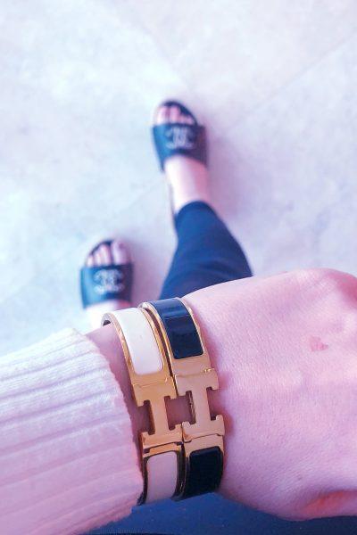 Spend or Save?! Hermes clic H bracelet designer & dupe