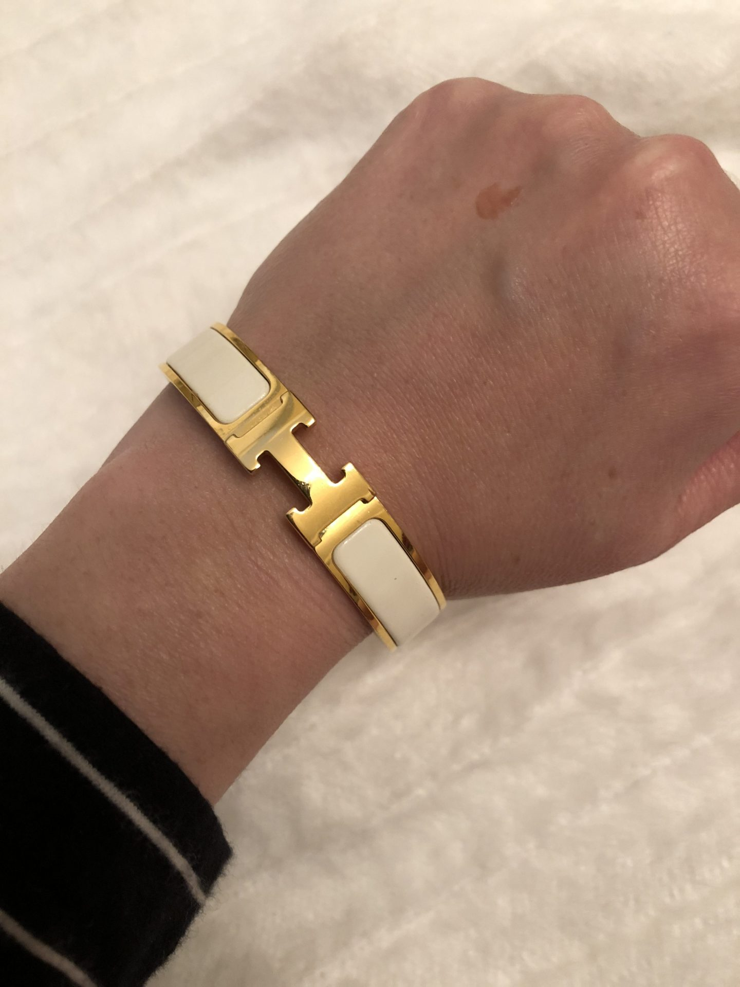 Spend or Save?! Hermes clic H bracelet designer & dupe