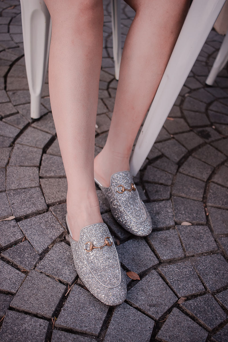 5 Best Designer Shoes You Can't Live Without This Summer, gucci mules, gucci glitter mules, gucci princetown mules