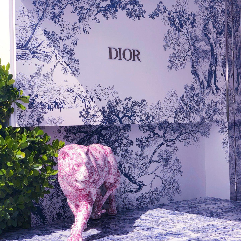 Dior Cafe Miami, cafe dior, cafe dior miami, what cafe dior miami looks like
