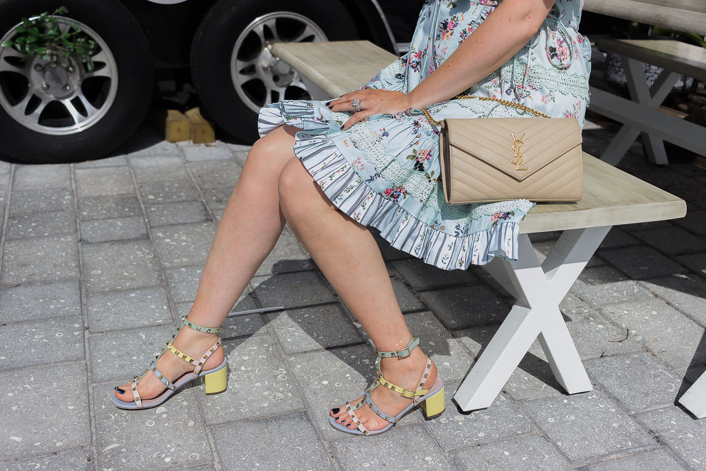5 Best Designer Shoes You Can't Live Without This Summer, best designer shoes, valentino rockstud sandals