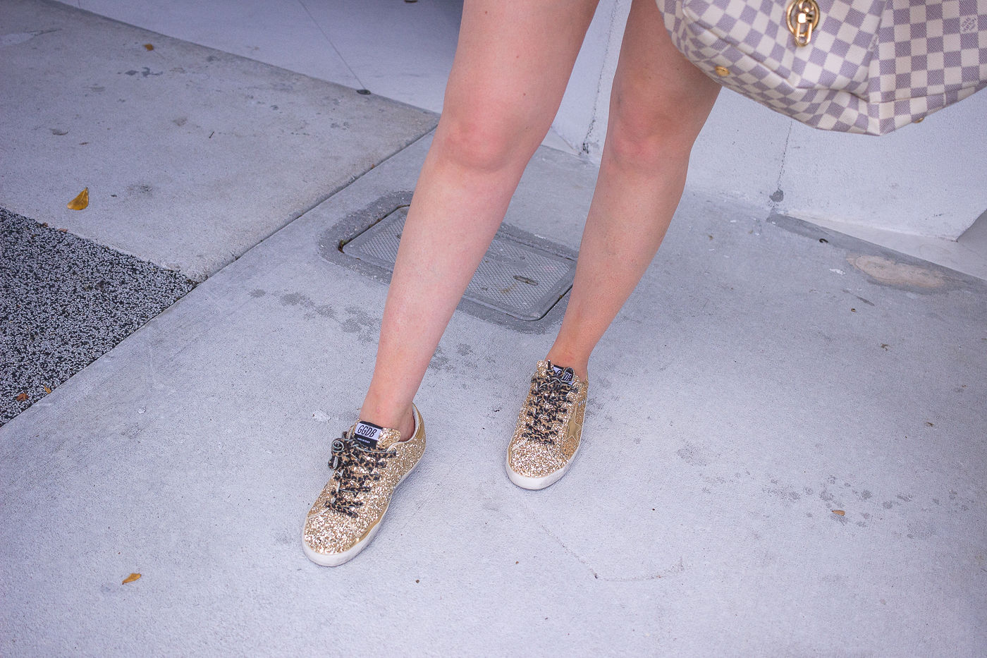 golden goose sneakers review | why you need dirty sneakers | golden goose gold sneakers