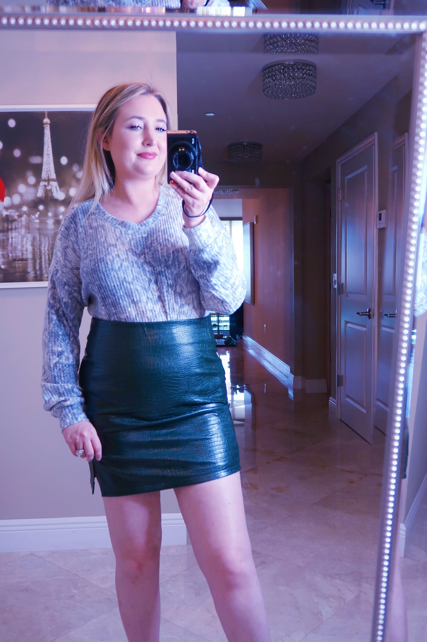 Nordstrom Haul | Everything You Need To Look Good!, nordstrom haul, whats new at nordstrom,, topshop snakeskin skirt, snakeskin henley, snakeskin top