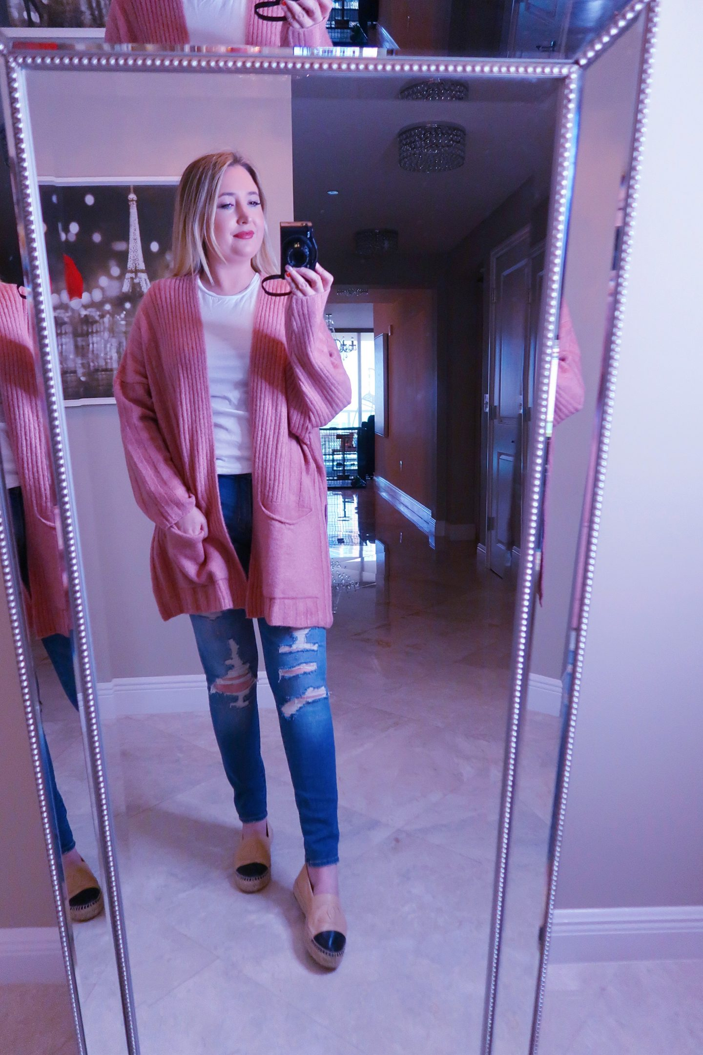 Nordstrom Haul | Everything You Need To Look Good!, nordstrom haul, whats new at nordstrom,, topshop cardigan, rose cardigan, chanel espadrilles