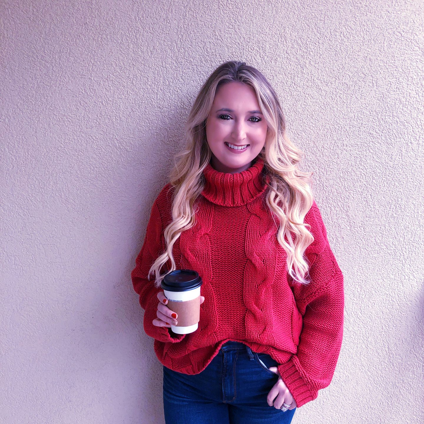What To Wear In Asheville In Fall,asheville style, asheville fashion, chunky fall sweater, amazon fashion, amazon fashion finds, amazon sweater
