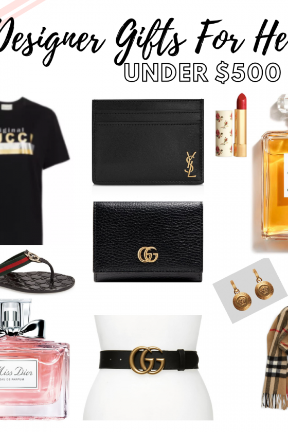 Designer Gifts For Her Under $500