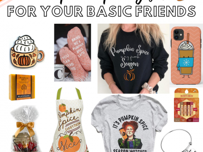 pumpkin spice gifts