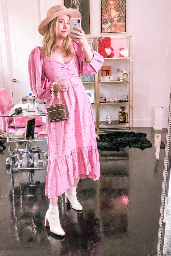Neiman Marcus Dresses Try-On (Farm Rio + Loveshackfancy)
